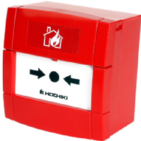 HOCHIKI CCP-E Conventional Call Point with Back Box Red